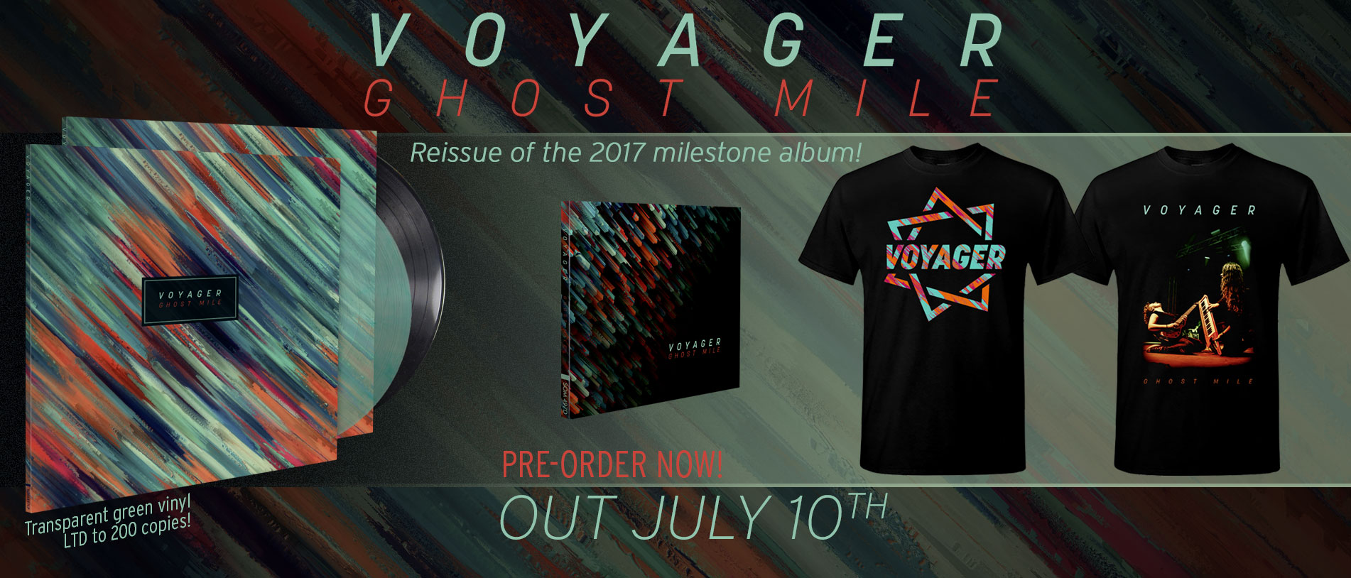 Voyager – Ghost Mile (re-issue)