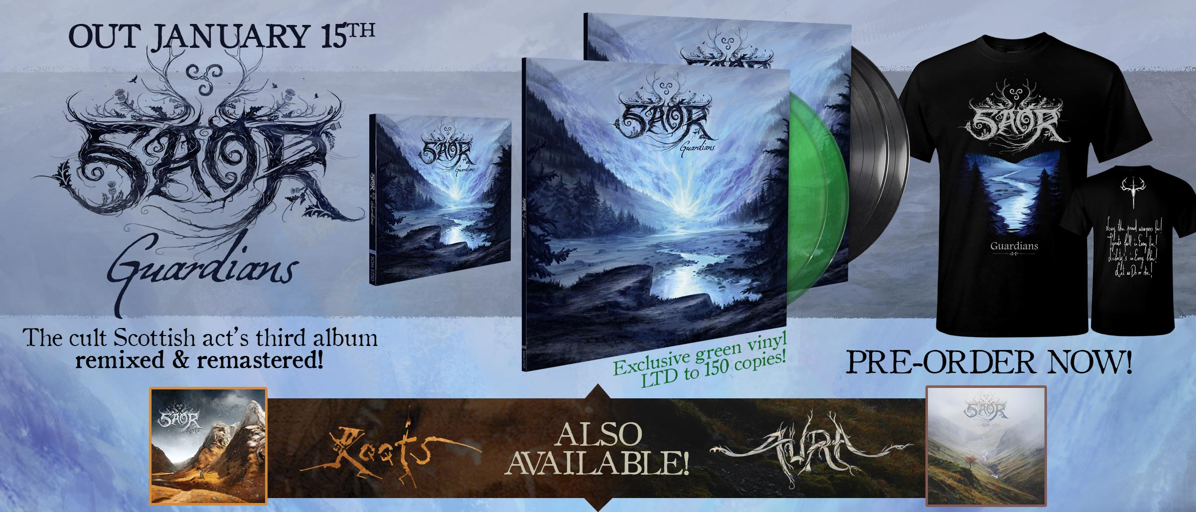 SAOR – Guardians (remixed and remastered)
